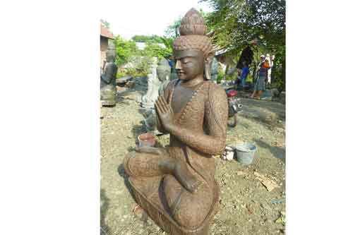 Große Buddha Figur aus der Buddha Manufaktur