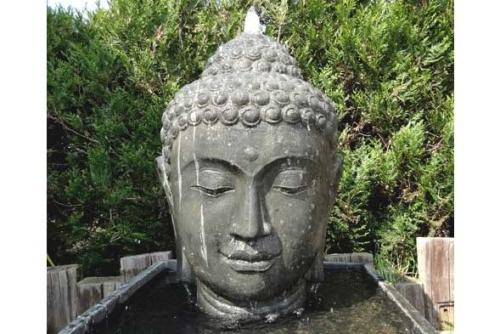 Buddha gesicht garten unikate bali buddha - Buddha fur den garten ...