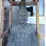 Seltene Statue handgemeiselt aus Vulkanstein. Den chinesischen Terrakoota Kriegern nachgeahmt. 170cm hoch und etwas Besonderes für den Garten.