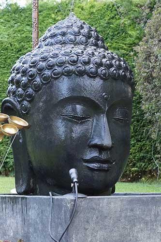 buddha brunnen mit 100cm kopf ab 848 bali buddha. Black Bedroom Furniture Sets. Home Design Ideas