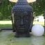 Buddha Brunnen Kopf 150cm hoch