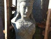 Dewi Sri Büste 80cm hoch
