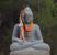 2,7 Tonnen schwere Buddha Figur